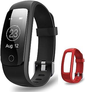 Fitness Tracker, AMERTEER Activity Tracker Heart Rate Monitor Smart Bracelet Bluetooth 4.0 Waterproof Smart watch Pedomete...