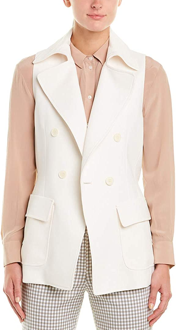 Anne Klein womens Double Breasted Vest