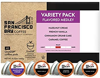 40-Count SF Bay Coffee OneCUP Flavored Variety Pack