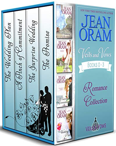 Veils and Vows Romance Collection (Books 0 - 3): The Promise, The Surprise Wedding, A Pinch of Commitment, and The Wedding Plan