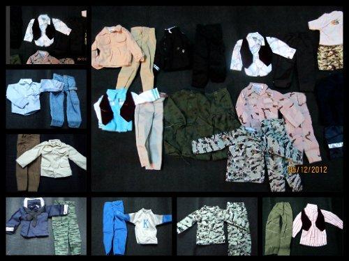 10 x Ken Homme D'Action GI Joe Poupée Vêtement Tenues Militaire Style Décontracté sélection aléatoire Posté de Londres par Fat-catz