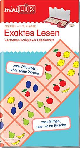 miniLÜK-Übungshefte: miniLÜK: 1./2. Klasse - Deutsch: Exaktes Lesen