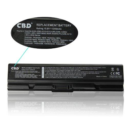 Li-ion Battery for Toshiba PA3534U PA3535U-1BAS PA3535U-1BRS pa3533u...
