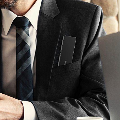 iCleverBluetoothキーボード折りたたみ式二つ折りスタンド一体型Bluetooth5.1軽量薄型ワイヤレスキーボードiPadiPhone用iOS/Android/Windowsに対応IC-BK11(ブラック)