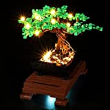 LODIY Kit de luz LED para Lego Bonsai Tree - Juego de luces para Lego 10281 Bonsai Tree (solo luz, no incluye modelo Lego) (versión clásica)