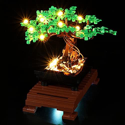 LODIY Kit de luz LED para Lego Bonsai Tree - Juego de luces para Lego 10281 Bonsai Tree...