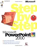 PowerPoint 2000 Step by Step Book/CD Package...