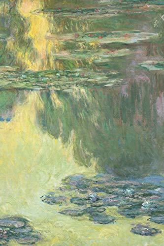 Monet Water Lillies Journal: Blank lined journal style notebook