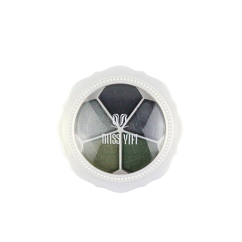 到着する熟達トランスミッションアイメイク アイシャドウパレット5色 大地系 アイシャドウ付き (04#) [並行輸入品]