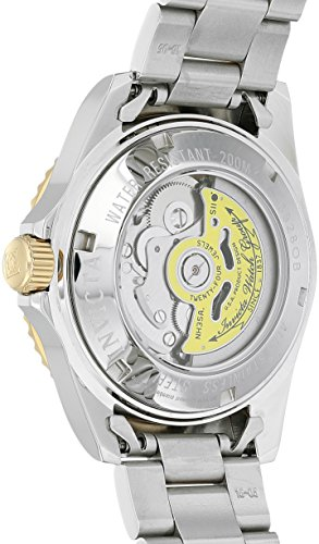 Fashion Shopping Invicta Men's Pro Diver 40mm Steel and Gold Tone Stainless Steel Automatic