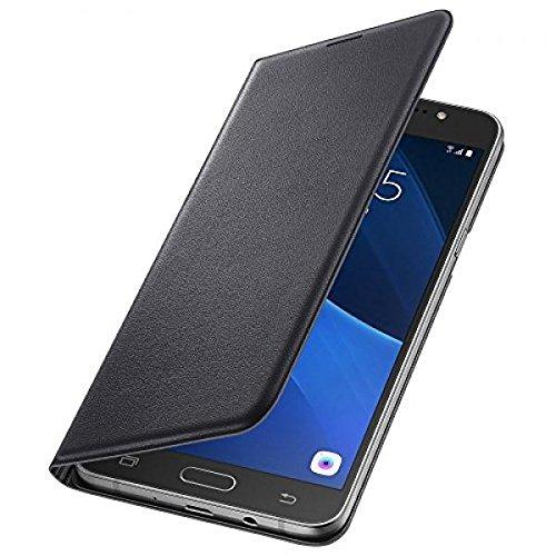 Samsung EF-WJ710PB Flip Wallet Galaxy J7 (2016) schwarz