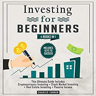Investing for Beginners: 4 Books in 1  audiobook cover art