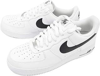[ナイキ] エアーフォースワン Air Force 1 07 AN20スニーカー シューズ メンズ 靴 レザー ホワイト ブラック CJ0952-100 [並行輸入品]