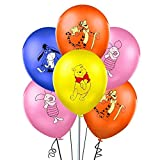 Winnie The Pooh and Friends Balloons Party Supplies 12' Winnie Latex Balloons for Kids Baby Shower Birthday Party Decorations (32Pcs)