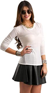 Hipster Hslo07-L T-Shirt For Women - L