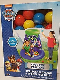 Nickelodeon Paw Patrol Code Paw Playland 20 Soft Flex Balls