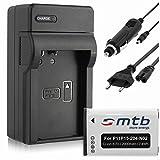 Batterie + Chargeur (Auto/Secteur) pour Garmin VIRB, VIRB Elite/Monterra/Montana 600, 650.
