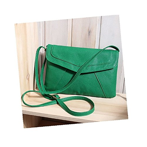MOAEURO, Borsa a tracolla donna verde Green