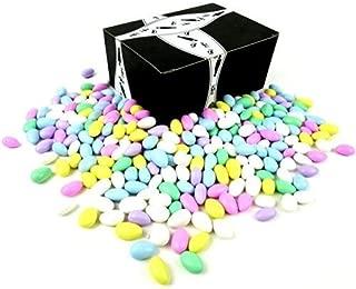 Cuckoo Luckoo Classic Assorted Jordan Almonds, 2 lb Bag in a BlackTie Box