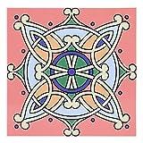 eecoo 15x15cm Unique Pattern Fliesenaufkleber, wasserdichte Selbstklebende...