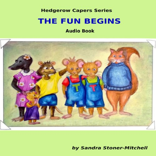 The Fun Begins audiobook cover art