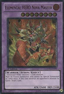 Yu-Gi-Oh! - Elemental HERO Nova Master (GENF-EN093) - Generation Force - 1st Edition - Ultimate Rare by Yu-Gi-Oh!