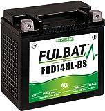 Fulbat - Batteria moto Gel FHD14HL-BS/ETX14L 12V 14Ah