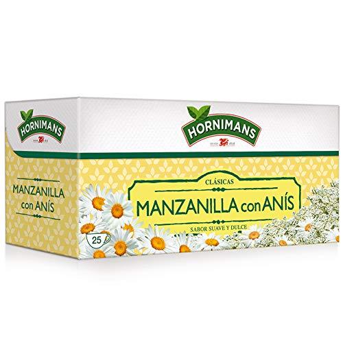 Hornimans Manzanilla con Anís, 25 Bolsitas