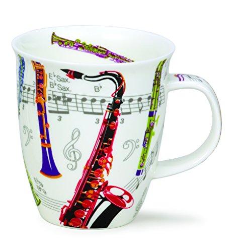 DUNOON Bone China Tempo Musik Tasse - Saxophone