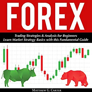 Forex: Trading Strategies & Analysis for Beginners cover art