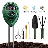 Soil Moisture ph Meter, Soil Ph Test Sunlight Tester with Bonsai Tools