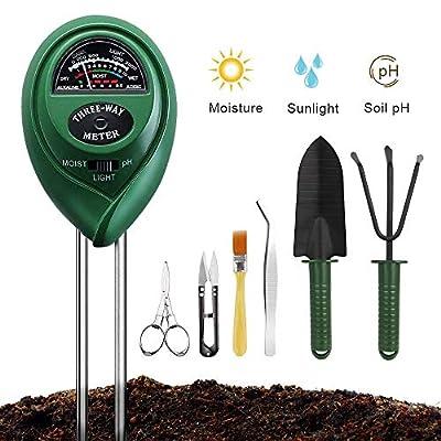 Soil Moisture Meter Sunlight Tester with Upgrad...