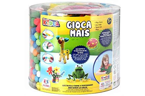 KIDEA Multicolores Bocal de Flocons Construire 283 G, 37244, 360 Pezzi