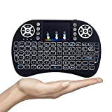 Gopani Mini Wireless Keyboard with Touchpad/Backlit Light & Wireless Mouse Combo for Android/iOS
