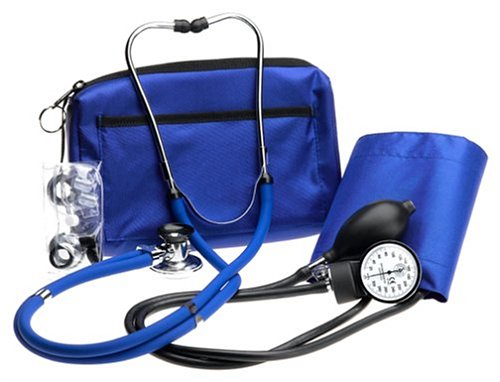Prestige Medical A2-ROY - Kit con tensiómetro, color azul real