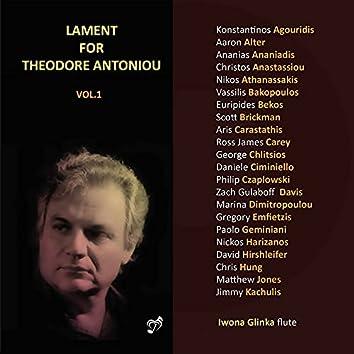 Lament for Theodore Antoniou, Vol. 1