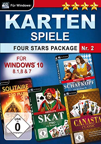 Kartenspiele Four Stars Package Nr. 2 (PC)