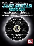 Master Anthology of Jazz Guitar Solos Volume 3 (English Edition)