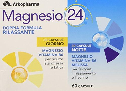 Arkopharma Magnesio 24 G&N, 60 Capsule