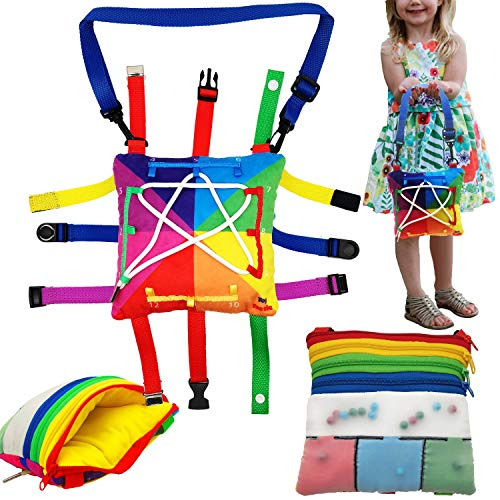 Fine Motor Skills, Sensory Toys, Girls Purse - Fidget Toddler Toys, Buckle...
