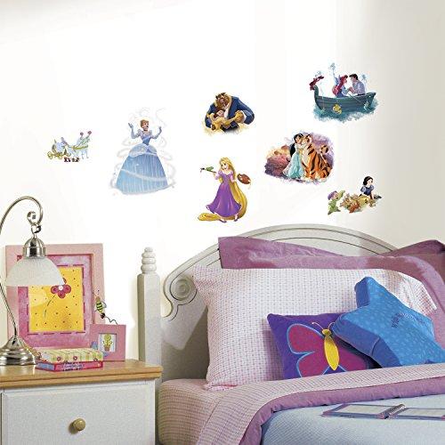 RoomMates Disney Princess Dream Big Peel And Stick Wall DecalsMulticolor