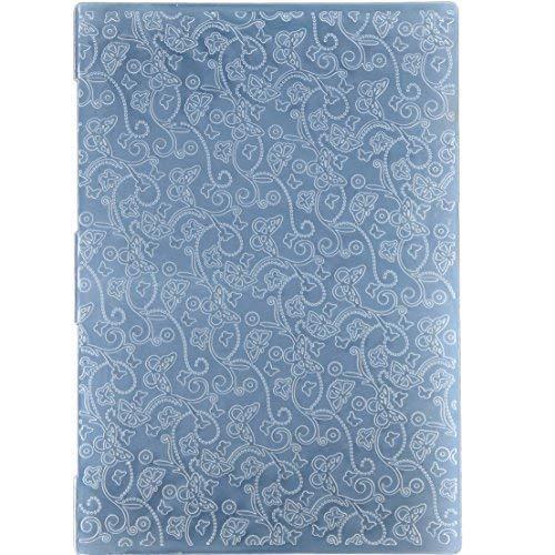 Kwan Crafts - Cartella in plastica per goffratura, Formato A4, Motivo: Farfalla, per Biglietti, Scrapbooking e Altri lavori di Carta, 29,7 x 21 cm