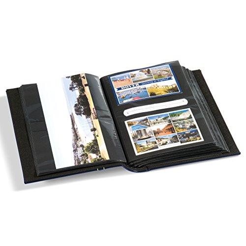 Leuchtturm Vielzweckalbum Multi für Postkarten, Briefe FDC, Fotos, blau