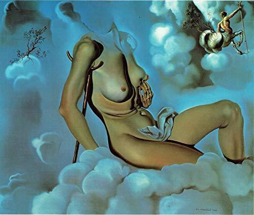 Honing is zoeter dan bloed 1941 Salvador Dali - Film Film Poster - Beste Print Kunst Reproductie Kwaliteit Wanddecoratie Gift Poster A4