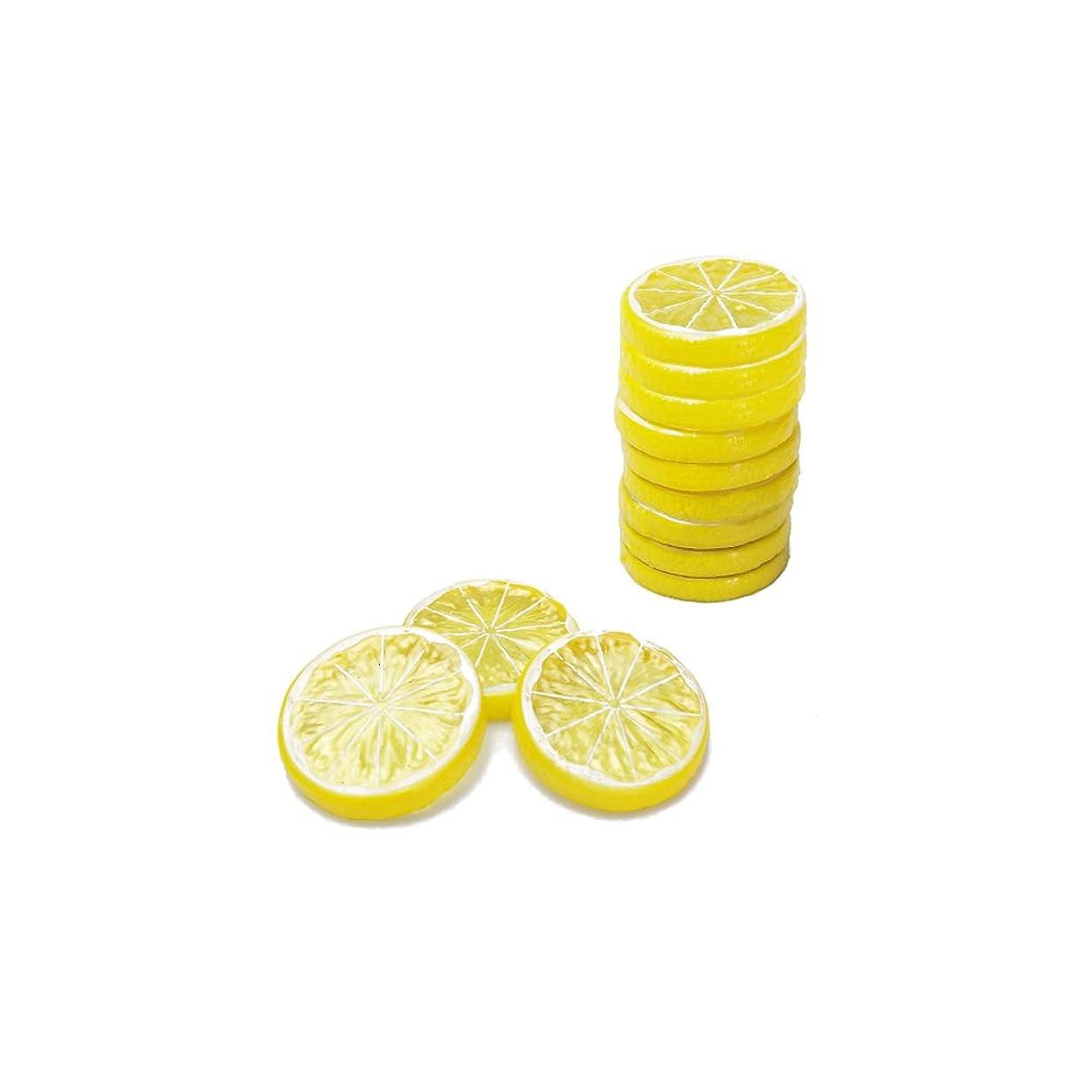 コンパイル普通のドナウ川Leafbabyリアルなフェイク人工レモンライムスライスシミュレーションフルーツモデル装飾ホームパーティーデコレーションKids認識機能おもちゃ