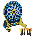 Big Sky Giant Inflatable Dartboard Set - Outdoor Lawn Dart Game for...
