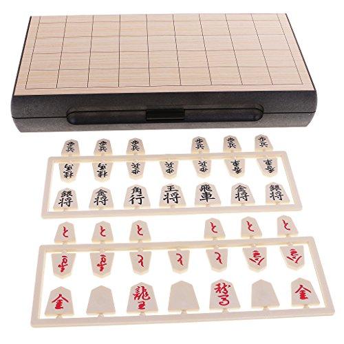 Ajedrez Japonés Magnético Shogi Magnético Tablero de Juego Portable Juguetes Educativos para Niños