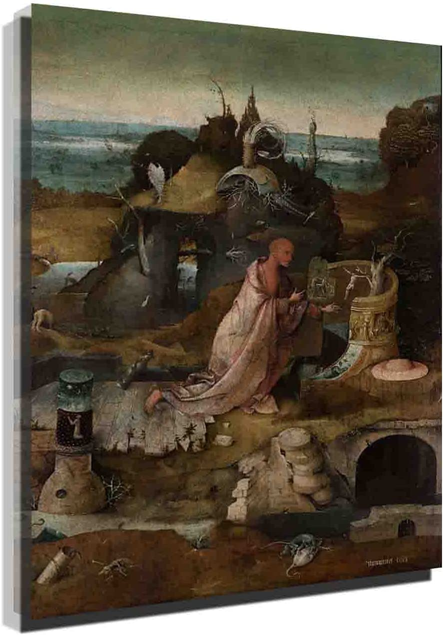 New product type Hieronymus Purchase Bosch Hermit SaintsWorld Reproducti Famous Painting