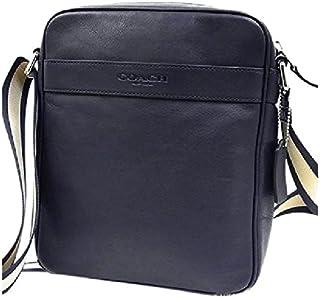 Coach Men's Flight Bag Smith Leather Crossbody Bag F54782 Midnight