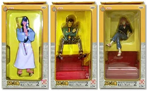 Lupin III DX Lupin family set Figure 2 all three set (japan import)